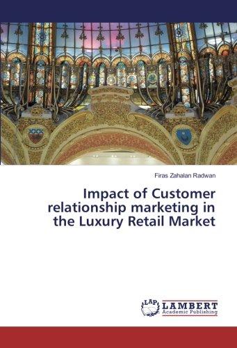 Download Impact of Customer relationship marketing in the Luxury Retail Market pdf epub