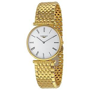 Longines La Grande Classique Quartz White Dial Gold-tone Case Mens Watch L4.755.2.11.8