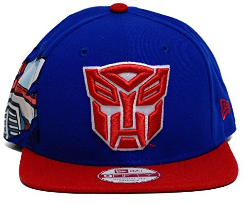 NEW ERA 9fifty HAT Hero Transformers Autobots Royal Blue/red Snapback CAP