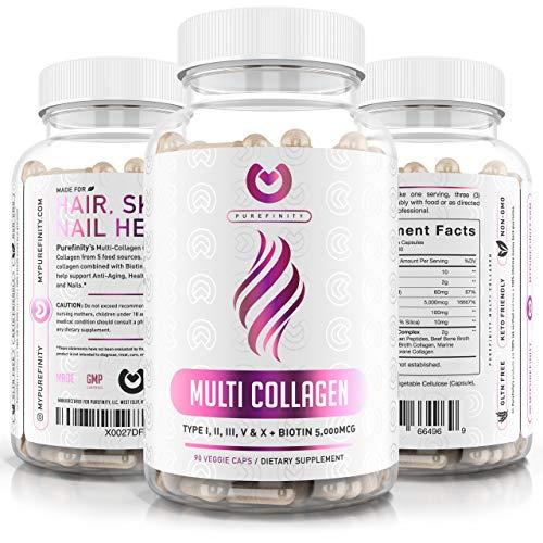 Collagen Peptides Pills Types