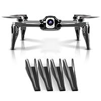 Penivo 4pz Set di piedi laptop 4cm altezza Extender atterraggio per Parrot Anafi 4K HDR drone fotocamera Protector cardanico accessori