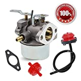 640052 carburetor - 640052 640054 Carburetor for Tecumseh HMSK80 HMSK90 8hp 9hp 10hp LH318SA LH358SA for Snow Blower Generator Chipper Shredder 640054 640349 Carb by HUZTL