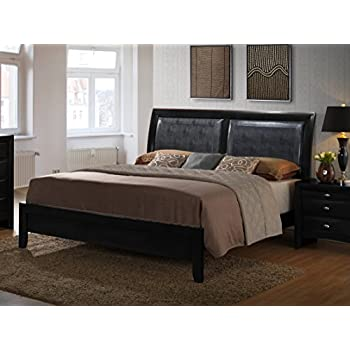 Amazon Com Roundhill Furniture Blemerey Bonded Leather