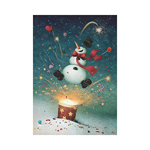 ArneCase Garden Flag Double Sided Printed Cute Winter Snowma
