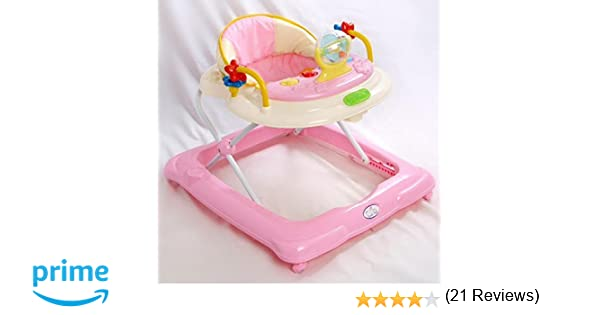 Andador para bebé, diseño estrella Rosa. Andador de actividades o ...
