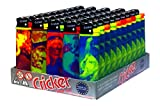 Disposable Cricket Lighters Neo Classico (Original) - Tray of 50