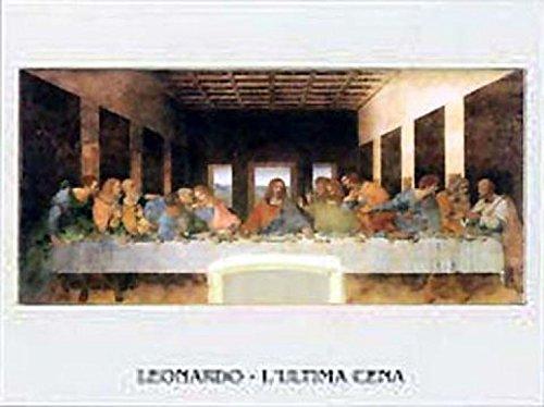 Posters: Leonardo Da Vinci Poster Art Print - Ultima Cena
