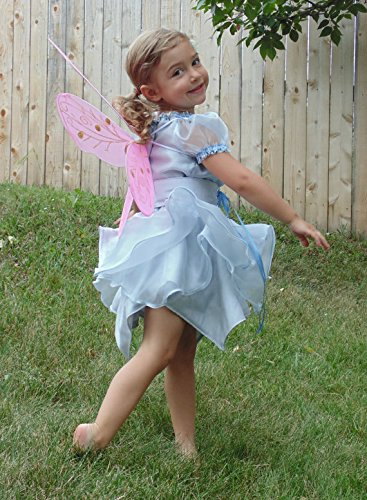 Girls 3T Pretty Fairy in Silver Layers by Fru Fru and Feathers Costumes & Gifts