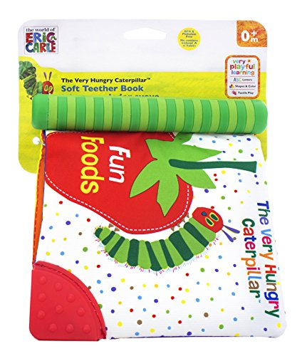 (World of Eric Carle, The Very Hungry Caterpillar Fun Foods Soft Book Teether)