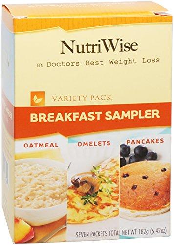 NutriWise - Petit déjeuner Diet Sampler Pack (7 / Box)