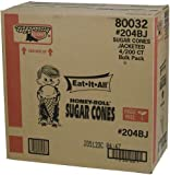 Cone Keebler Eat It All 204BJ Honey-Roll Sugar Cone Jacketed 800 per Case