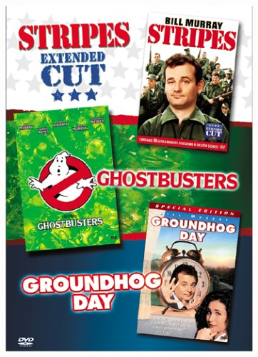 Stripes (Extended Cut), Ghostbusters, Groundhog Day Box Set