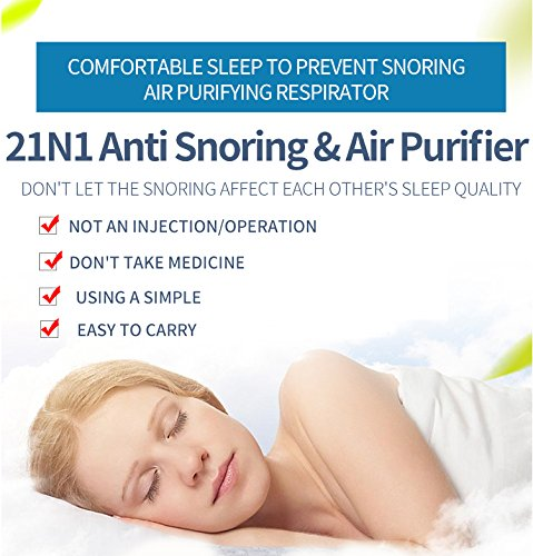 Lingsss Anti Snore Snoring Devices AIDS, 2 Pack 2 in 1 Anti Snore Nose Purifier Snore Stopper Nose Vents Solution Blocker Preventer Relief for Women Men to Stop Snoring Noise Silent Night Sleep by Lingssss (Image #7)