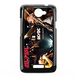 Zqgep Unique Design Cases HTC One X Cell Phone Case ACDC Printed Cover Protector