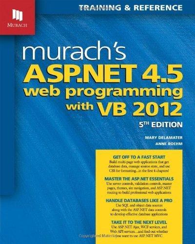 Amazon.com: Murachs ASP.NET 4.5 Web Programming with VB ...