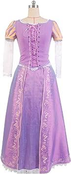 MingoTor Princesa Princess Rapunzel Vestido Disfraz Traje de ...