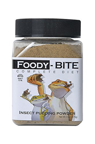 Repti Shedding Aid (Foody Worm Gecko Foody Gluten Free Powder Complete Diet Various Versions (Foody Bite, 6 oz(170g)))