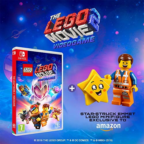 Amazon Com The Lego Movie 2 Videogame Minifigure Edition Amazon Exclusive Nintendo Switch Video Games