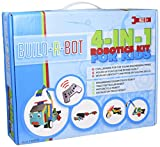Robotics Kit for Kids, #1 Premium Build a Remote Control Robot, Perfect Set for Young Kids Who Like to Build Things, Intermediate Difficulty