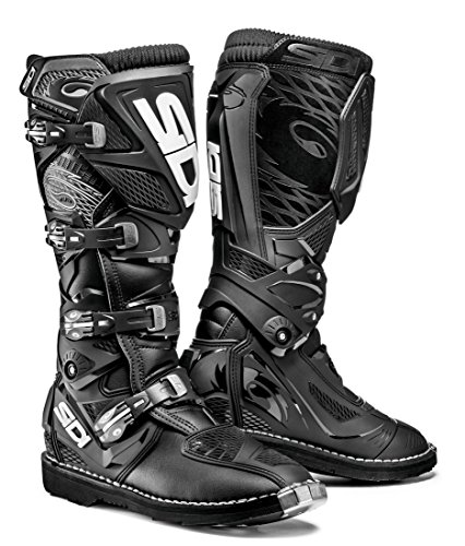 (Sidi X-3 TA Off Road Motorcycle Boots Black US9.5/EU43 (More Size Options))