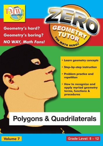 Amazon.com: Zero The Math Hero - Polygons & Quadrilaterals: Lowell ...