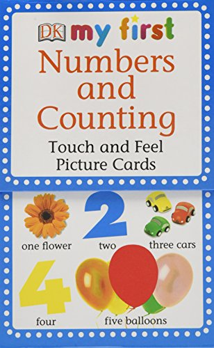 My First Touch & Feel Picture Cards: Numbers & Counting (MY 1ST T&F PICTURE CARDS) by DK Preschool
