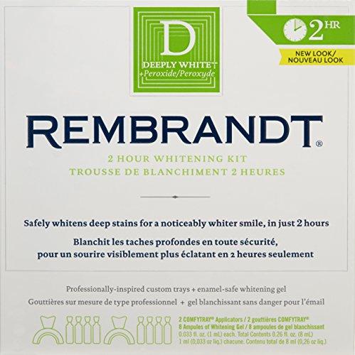 Kit de blanchiment Rembrandt 2 heures