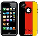 Otterbox Commuter Series German Flag Hybrid Case for iPhone 4 and 4S