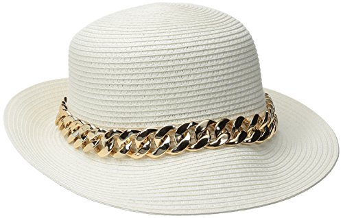 physician-endorsed-womens-orlina-packable-hat-with-asymmetrical-brim-white-gold-one-size