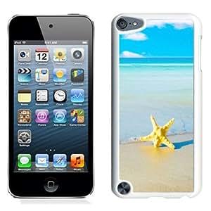 NEW Unique Custom Designed iPod Touch 5 Phone Case With Starfish Beach_White Phone Case wangjiang maoyi