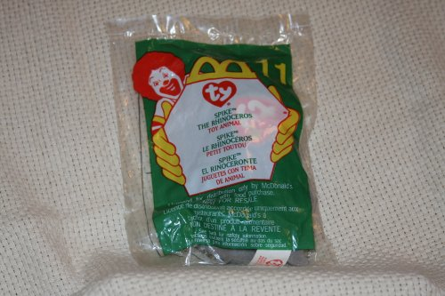 Spike the Rhino - McDonald's Ty Teenie Beanie MIP - 2000 - Stores Tampa Outlet
