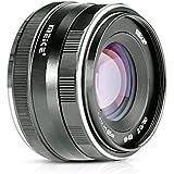 Meike 50mm f/2.0 Fixed Manual Focus Lens for Sony E mount Mirrorless Camera A6300 A6000 A5100 A5000 NEX7 NEX6 NEX5n NEX5r NEX5t NEX5 NEX3 NEX3N with Voking Lens Cleaning Cloth