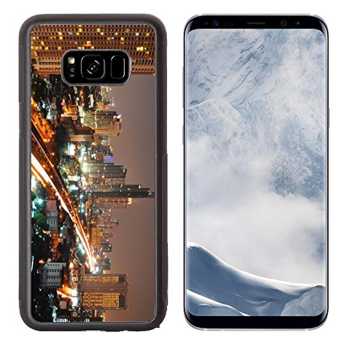 Luxlady Samsung Galaxy S8 Plus S8+ Aluminum Backplate Bumper Snap Case IMAGE ID: 24774920 Bangkok City at - District The Target At