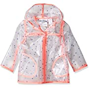 OshKosh B'Gosh Osh Kosh Baby Girls Translucent Rainslicker Rain Jacket, hearts, 24M