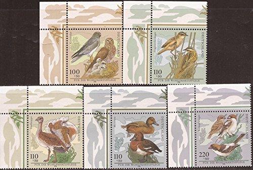 Germany - 1998 Birds - 5 Stamp Set - Scott - Usps Germany