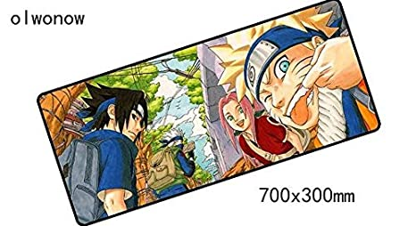 Amazon.com : Ninja Anime Extended Mouse Pad Large Mousepad ...