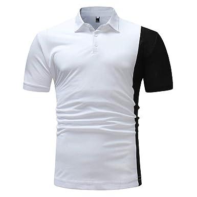 Camisa De Polo para Hombres Camisa De Corte Retro Slim para ...