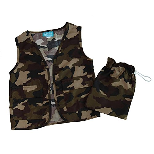 Boy Toy Soldier Costumes - Making Believe Boys Camo Vest &