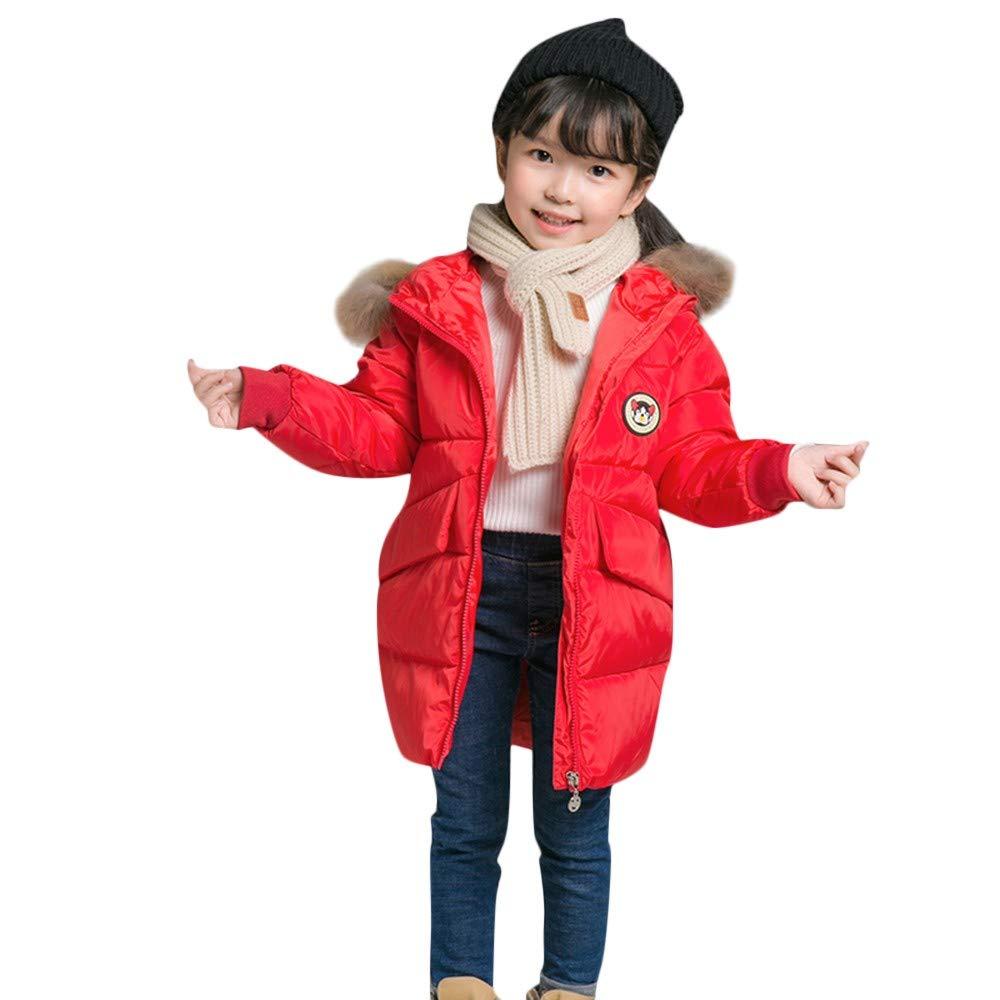 HUHU833 Baby Kapuzen Mantel Kinder Daunenmantel Baby M/ädchen Jungen Winter Kapuzenmantel Mantel Jacke Winter Dicke Warme Oberbekleidung Kleidung