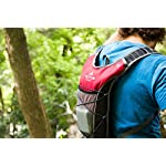 TETON Sports TrailRunner 2.0 Hydration Pack; Backpack for Hiking, Running and Cycling; Free 2-Liter Hydration Bladder 30 SATISFY YOUR THIRST FOR ADVENTURE: Lightweight and comfortable hydration backpack; This pack is a terrific companion to keep you hydrated while running, cycling, hiking or any adventure outdoors FREE HYDRATION BLADDER: BPA free, 2-Liter hydration bladder; Durable, kink-free sip tube and push-lock cushioned bite valve; Large 2-inch (5 cm) opening for ice and easy cleaning CUSTOMIZABLE COMFORT: Backpack for men, women, and youth; Adjusts to fit all frames; Comfortable mesh covered shoulder straps mean you can wear this pack for hours