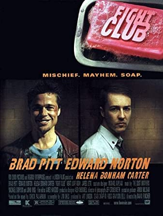 fight club poster  POSTER-FIGHT CLUB ORIGINAL ROLLED MOVIE POSTER at Amazon's ...