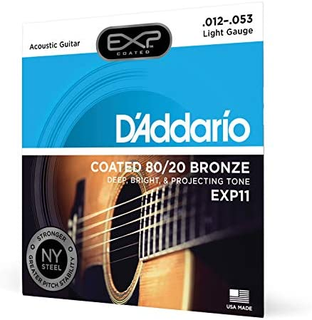 DAddario EXP15 - Juego de Cuerdas para Guitarra Acústica de ...