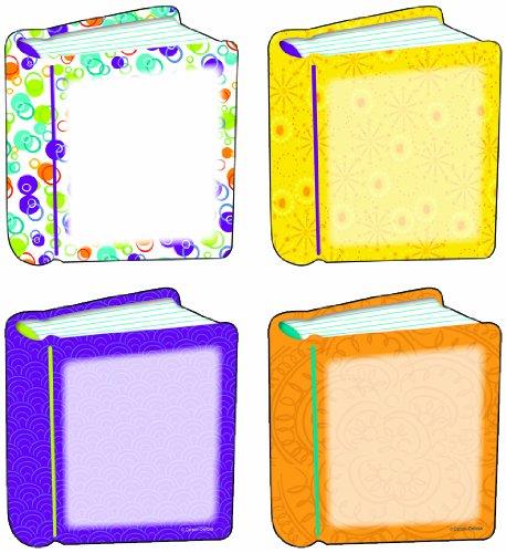 Carson Dellosa - Books Colorful Cut-Outs, Classroom Décor, 36 - Cut Outs Colorful Cd