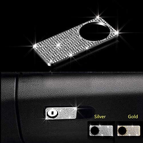 HDCF Diamant Strass Aufbewahrungsbox griffbrett Dekoration Aufkleber//Werkzeugkasten Borte Rahmenabdeckung Aufkleber F/ür C200L E-klasse GLK GLC CLS SL GL M