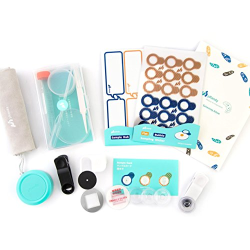 uHandy Mobile Phone Microscope Duet: Educational Microscope Kits for Aged 6+   STEM Learning and Inspiring Equipment   Reusable Sampling Stickers and Sample Cap, Compatible with Android and iOS