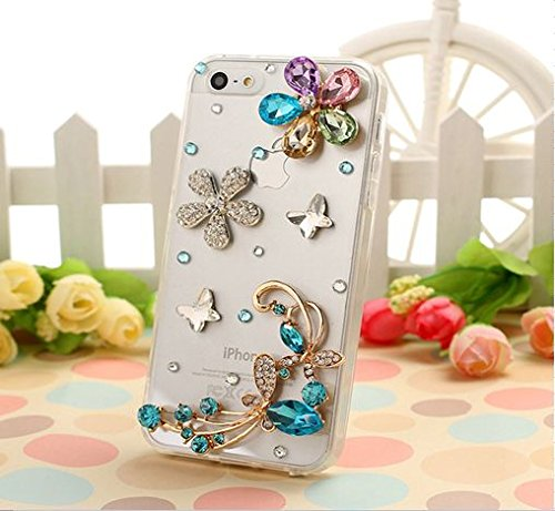 ELENXS-Luxury-handmade-3D-bling-Crystal-Rhinestone-Diamond-Hard-Back-Case-Cover-Skin-for-iPhone-4-4S-5-5S-5C