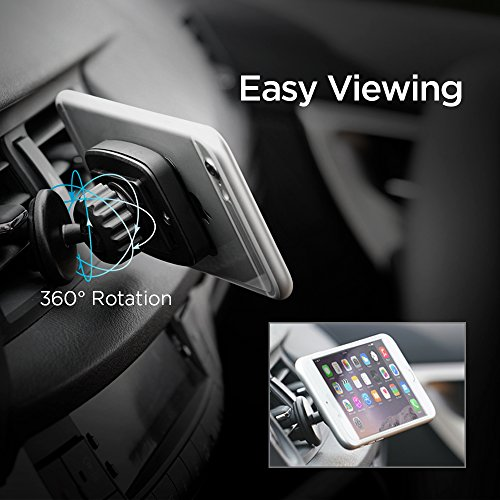 Spigen a201 car mount premium magnetic air vent phone holder 4