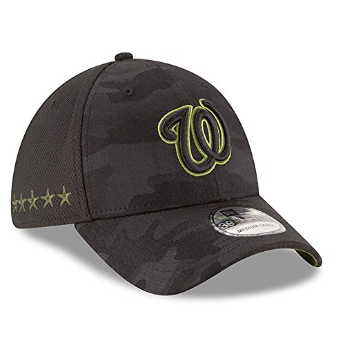 new style 769c3 f73f9 ... amazon new era washington nationals 2018 memorial day 39thirty flex hat  m l cb478 f6592