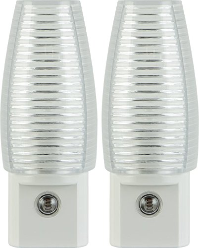 Lights By Night Incandescent Light-Sensing Night Lights, 2 pk
