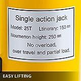 VEVOR Hydraulic Cylinder Jack 25Ton, Solid Ram